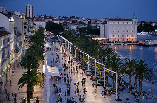 World Visits  Split Croatia Fantastic Place For Summer