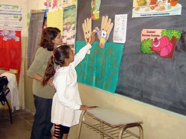 El municipio promueve la alimentación saludable y el lavado de manos
