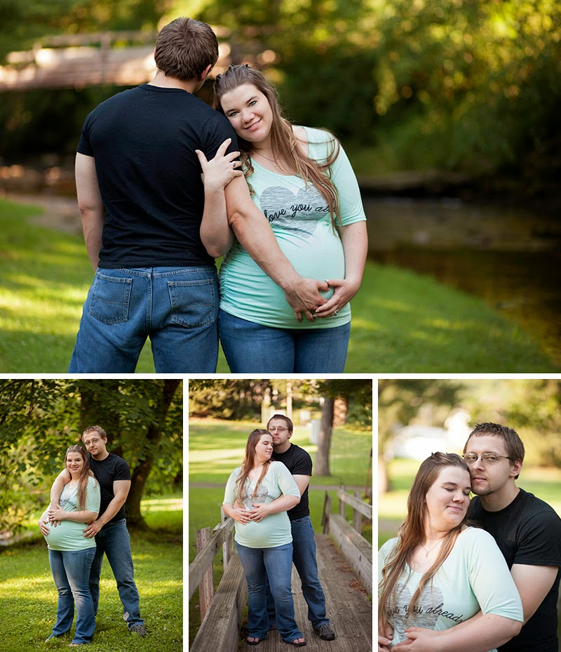 Beautiful natural light maternity session Western PA Sandra Jackson Photography