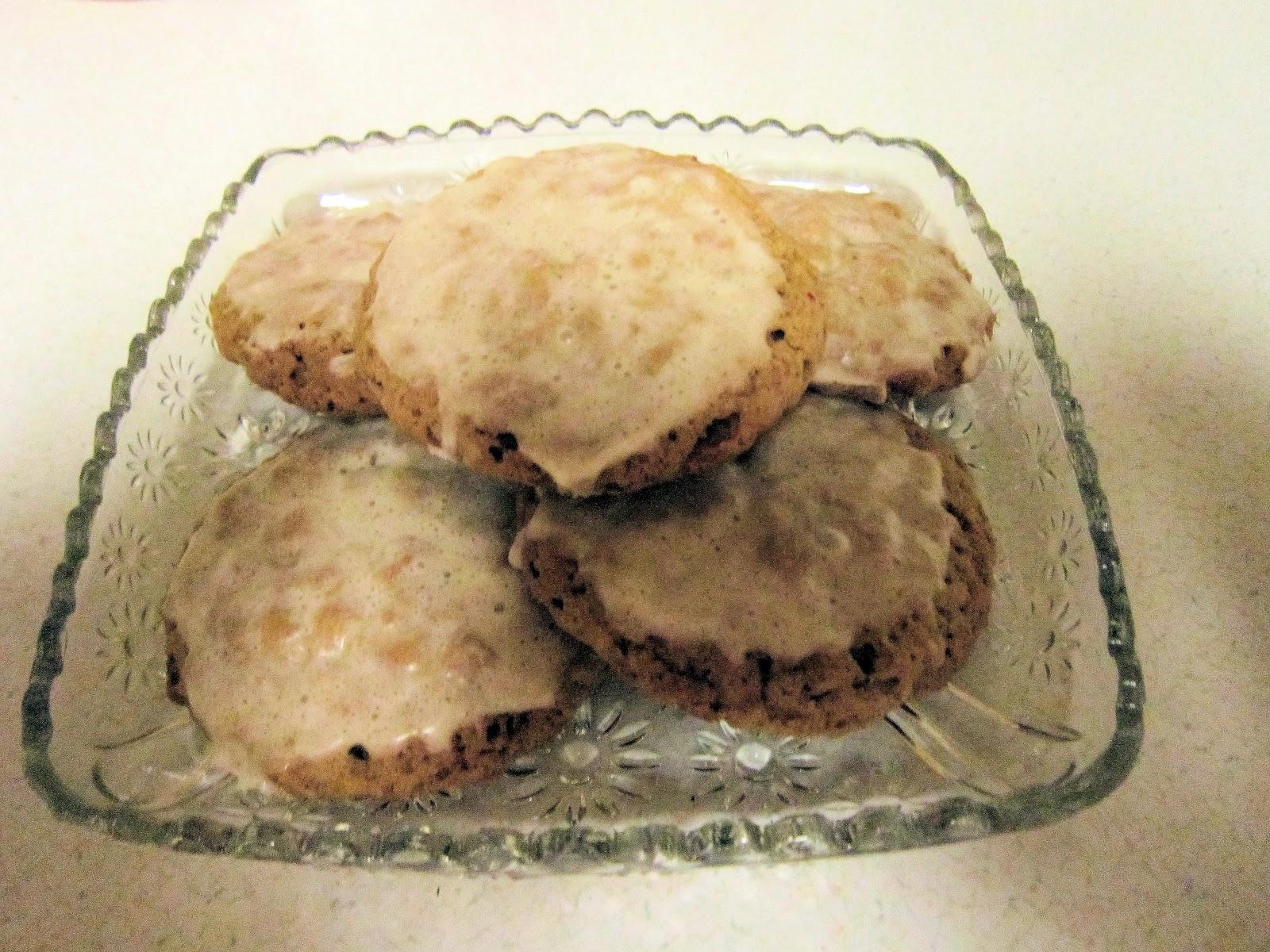 GULF COAST GRAM: Iced Oatmeal Cookies