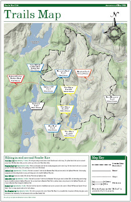 2011 Smoke Rise Trails Map