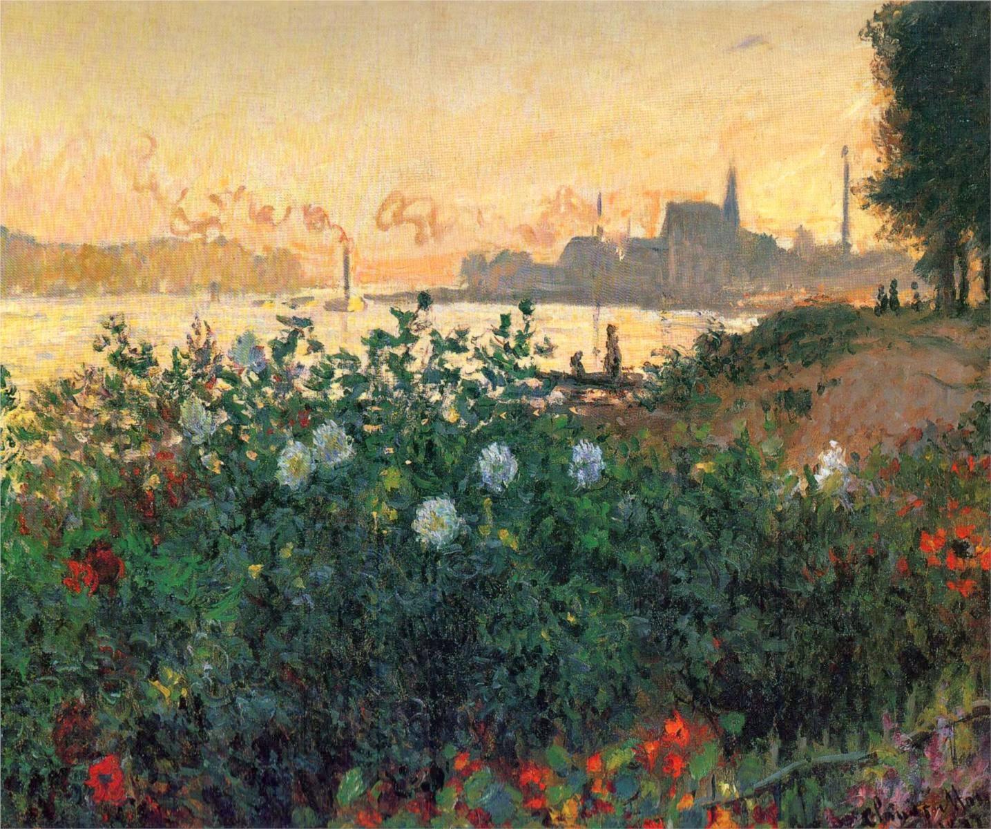 impressionism monet flowers - photo #21