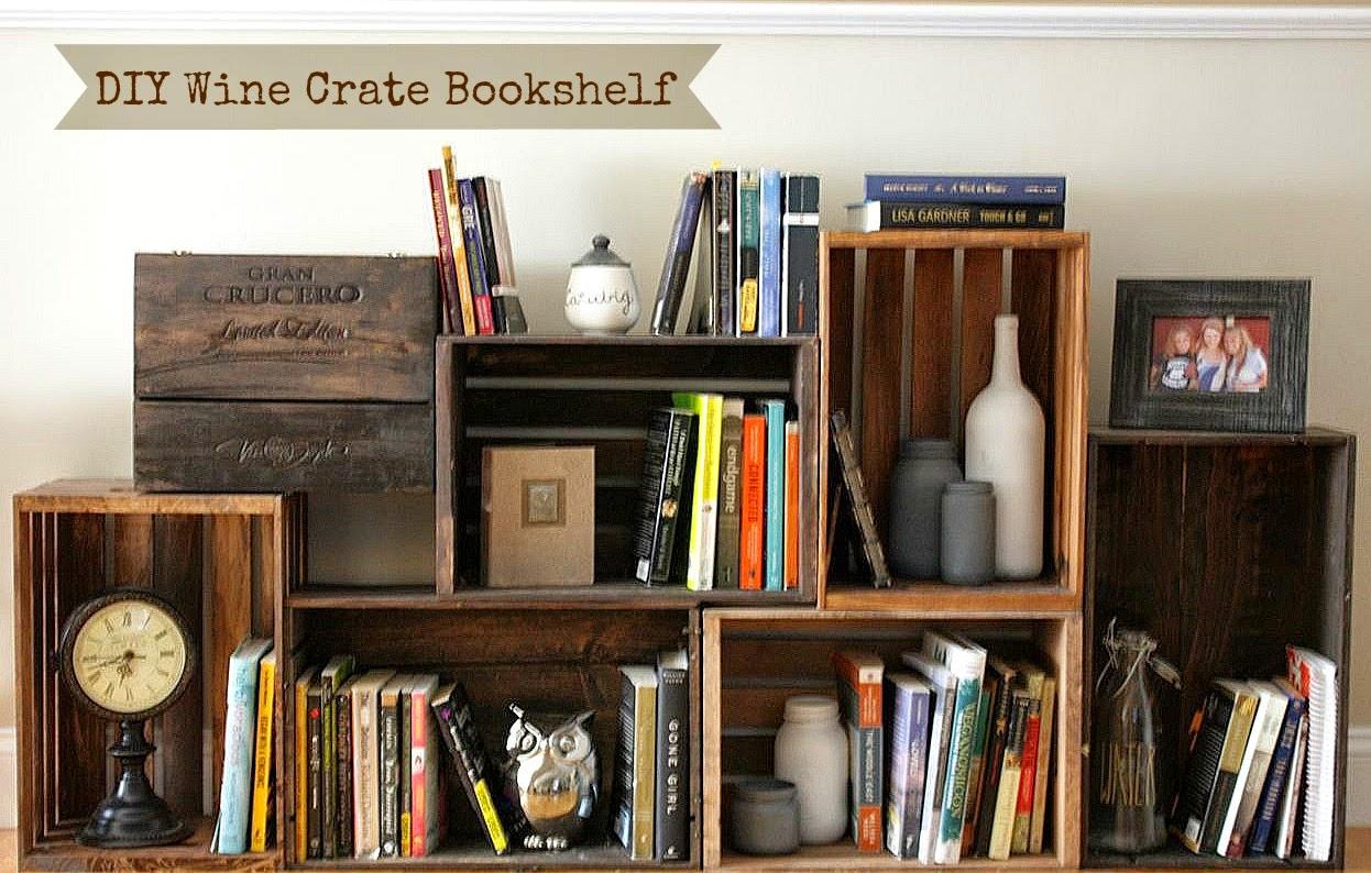 Super bookworm girl diy bookshelves for Cool cheap bookshelves