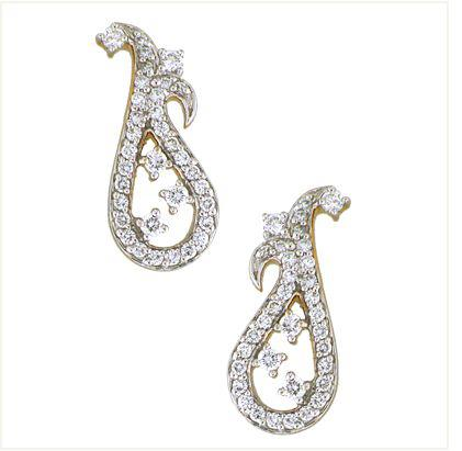 Diamond Earrings Tanishq