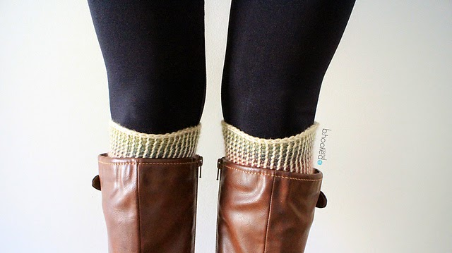 free crochet pattern reversible boot cuffs