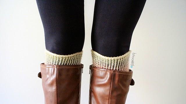 free crochet pattern reversible boot cuffs