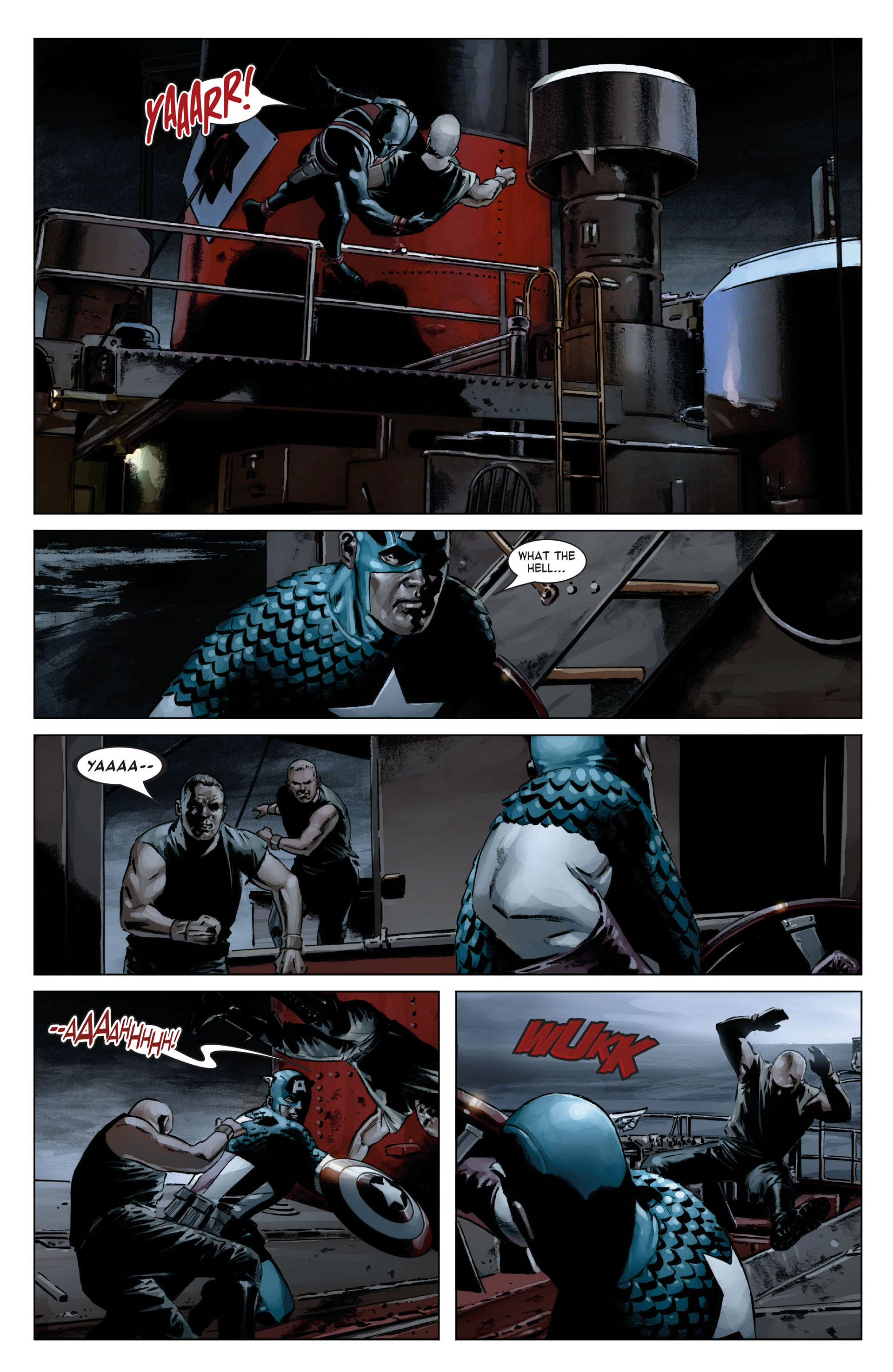 Captain America (2005) Issue #18 #18 - English 20