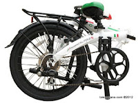 20 Inch FoldX World Cup Italy Le Azzuri Folding Bike