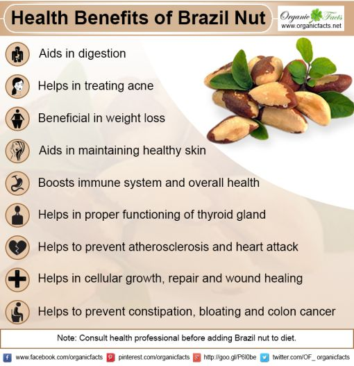 benefits brazil nut