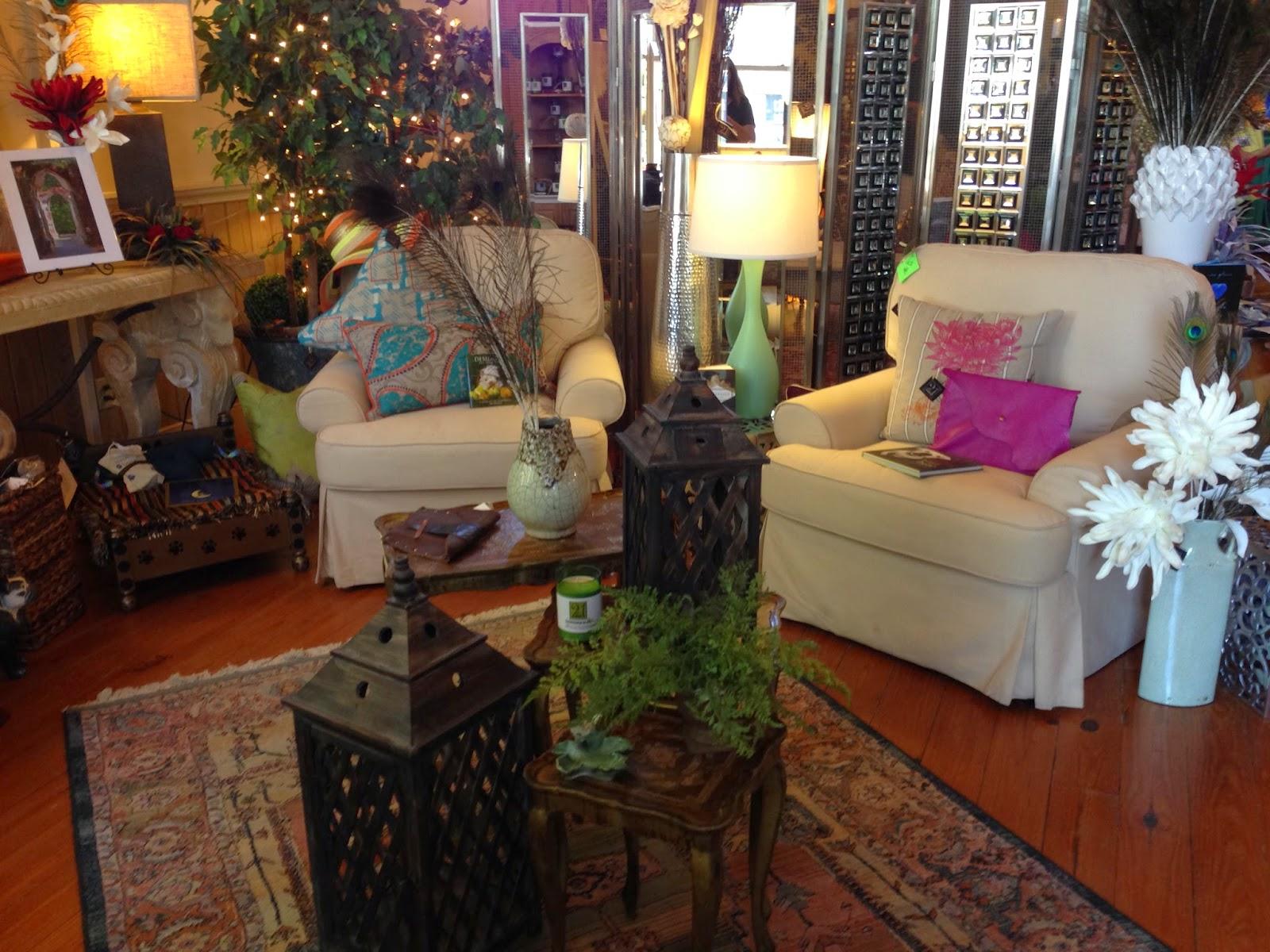 furniture at 21 Main, Salado TX