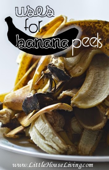 http://www.littlehouseliving.com/uses-for-banana-peels.html