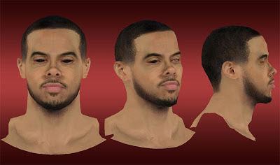 NBA 2K13 D.J. Augustin Cyberface Mod