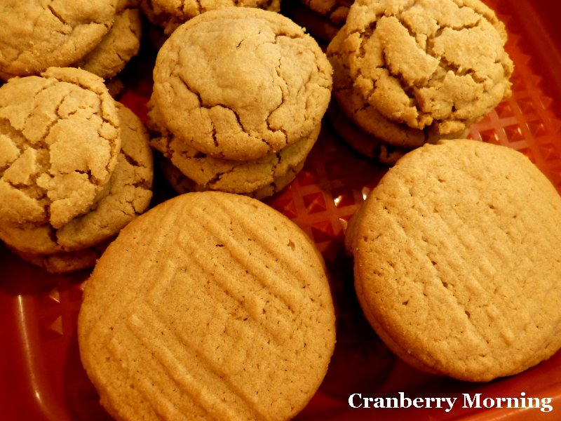 Cranberry Morning: GF Peanut Butter Cookies Recipe