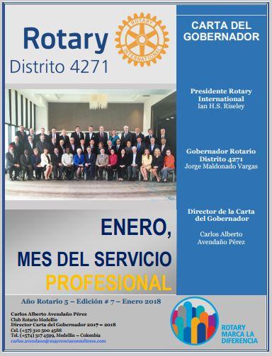 Boletín Mensual de la Gobernación