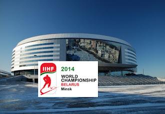 Eishockey-WM 2014 - Minsk-Arena