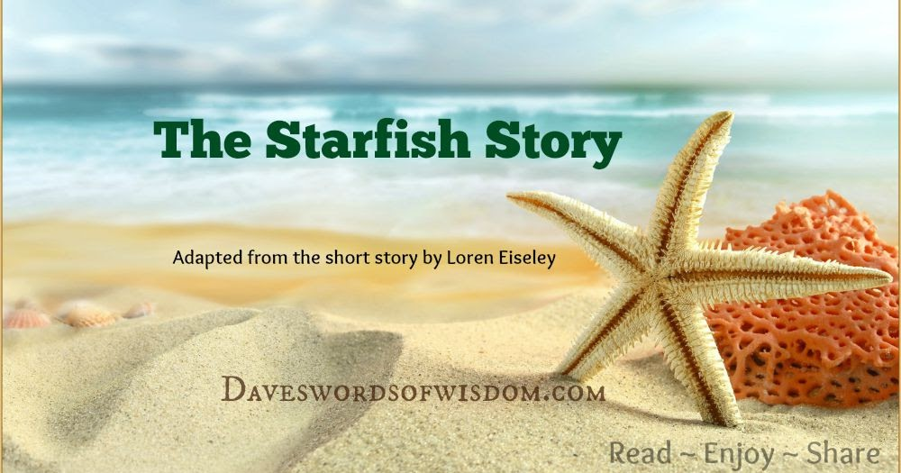Daveswordsofwisdom.com: The Starfish Story