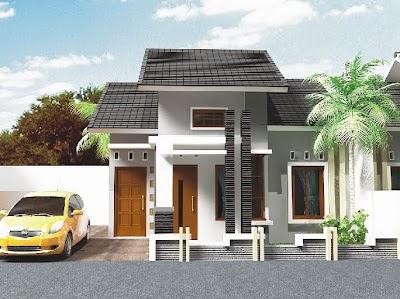 Model Desain Rumah Minimalis Type 45 Terbaru