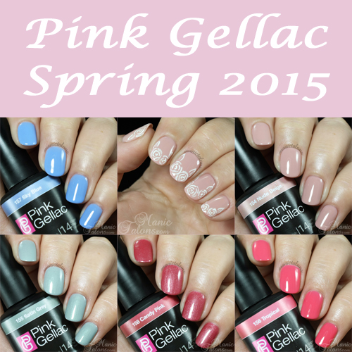 Pink Gellac Spring 2015 Collection Swatches
