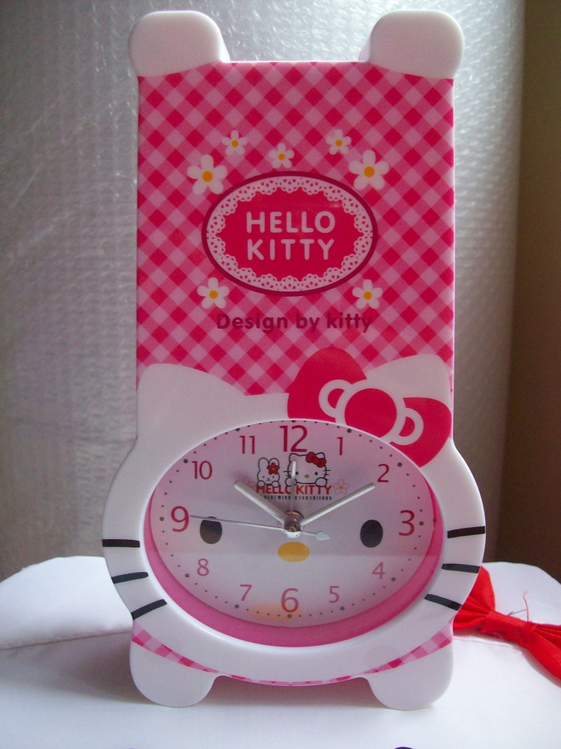 Jam Weker Celengan Hello Kitty