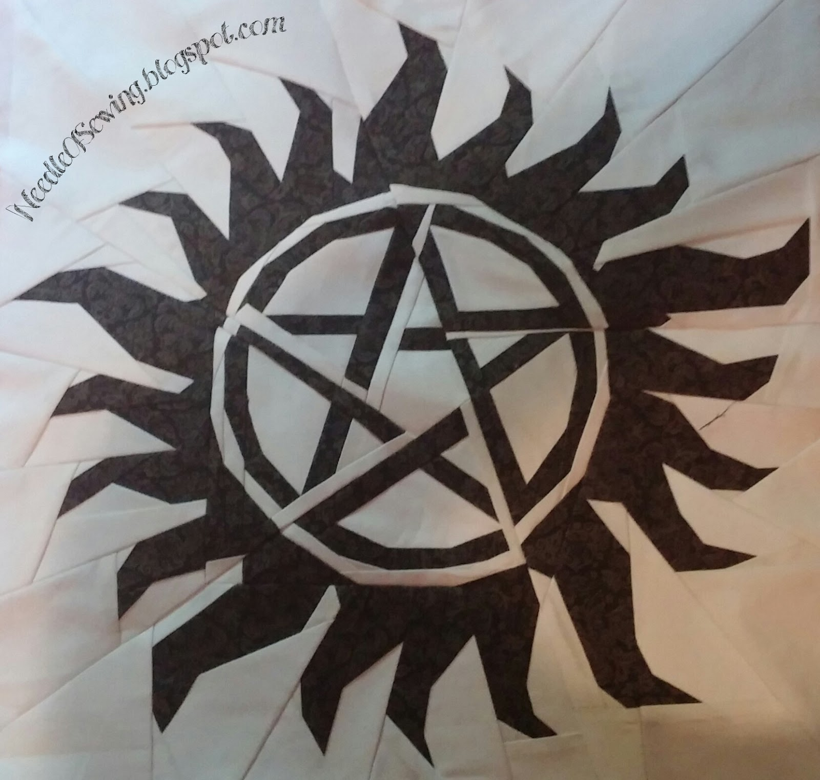 Needle Of Sewing 3 Supernatural Quilt Anti Possession Tattoo