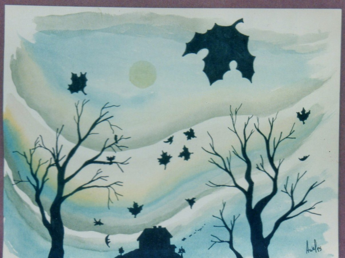dibujos de otoño