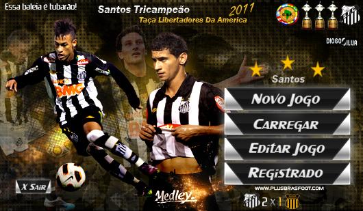 Skin Santos Campeão Libertadores - Brasfoot 2011
