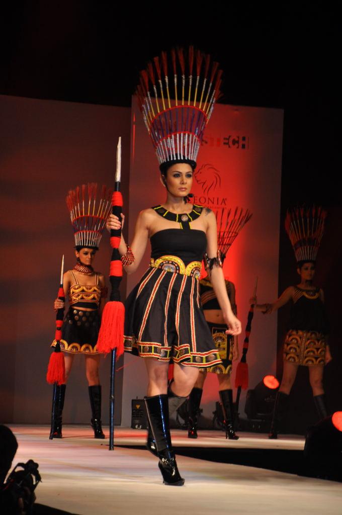 , Models Walk The Ramp For Hamstech Calantha Fashion Show 2011