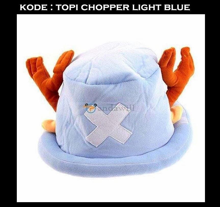 Topi Chopper Light Blue One Piece Murah  6b2a2e06c2