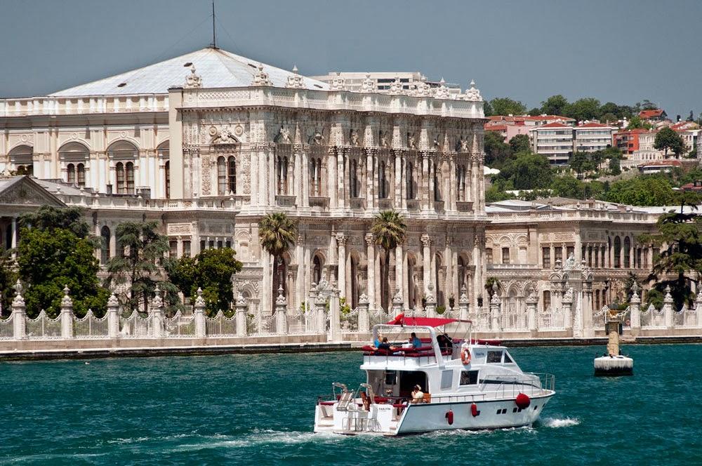 el Palacio de Dolmabahce Estambul