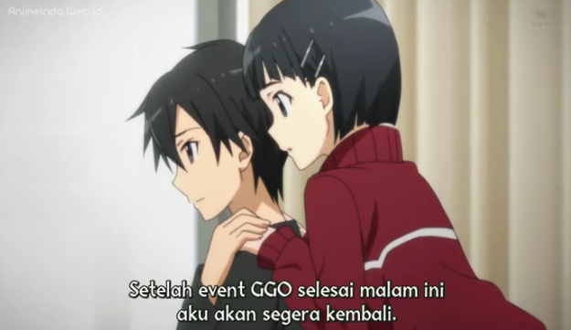 Iho Khawatir Sword Art Online II Episode 7