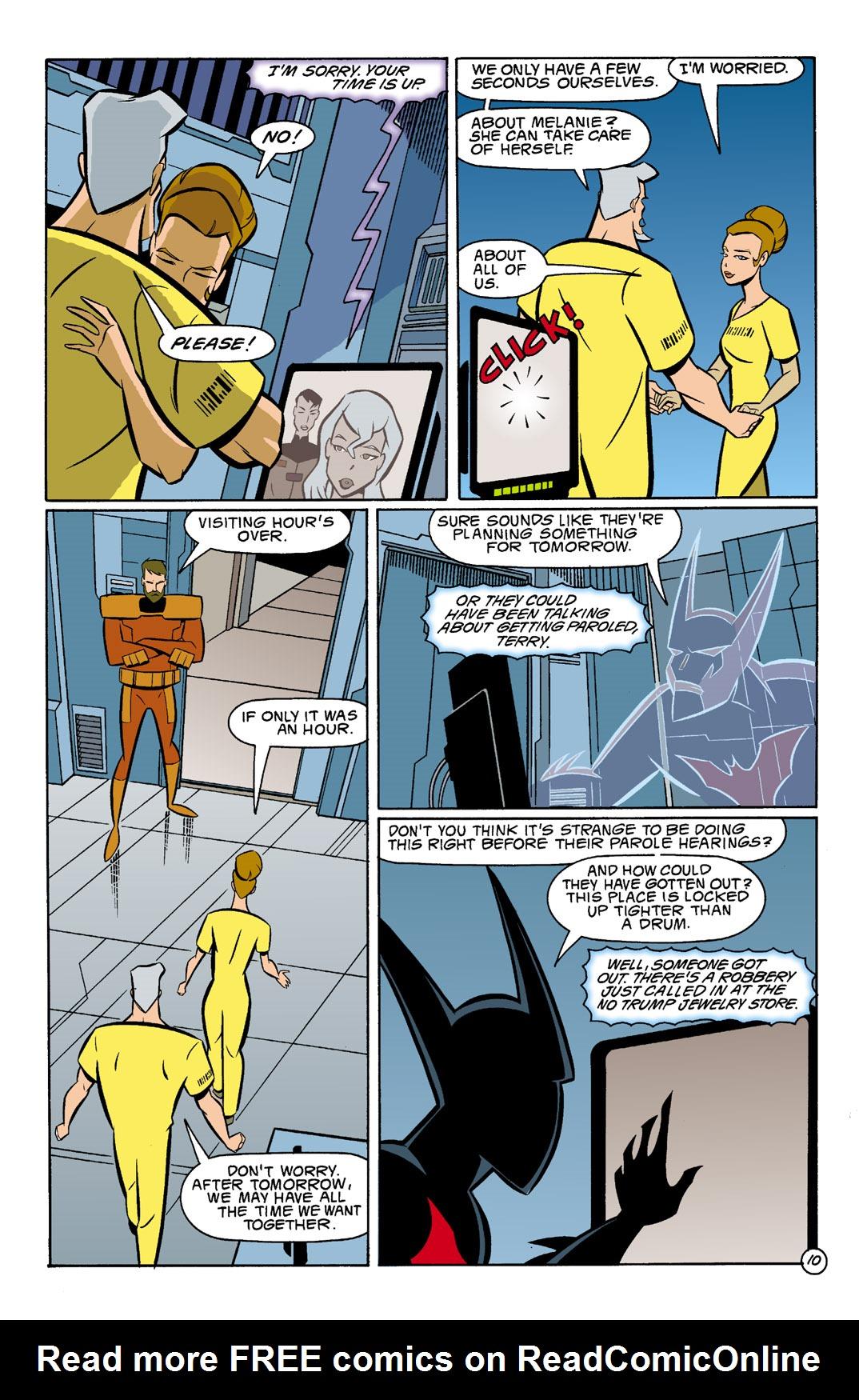Batman Beyond [II] Issue #4 #4 - English 11