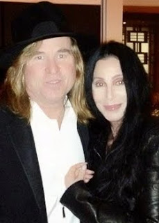Cher and Val Kilmer in October, 2012
