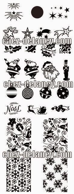 Lacquer Lockdown - Chez Delaney, Chez Delaney nail art stamping plates, nail art stamping blog, diy nail art, christmas nail art stamping plates, nail art stamping, lace nail art stamping plates, lace nail art, christmas nail art, stamping, new nail art stamping plates 2014, new nail art image plates 2014