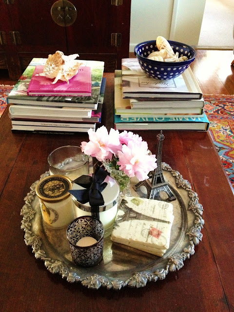 Decorating, Home Decor, Vignette, Coffee Table
