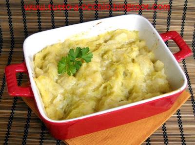 Colcannon (pasticcio di patate e cavolo)