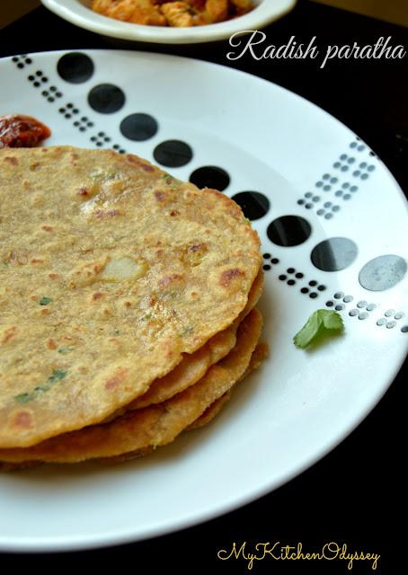 mooli paratha recipe2