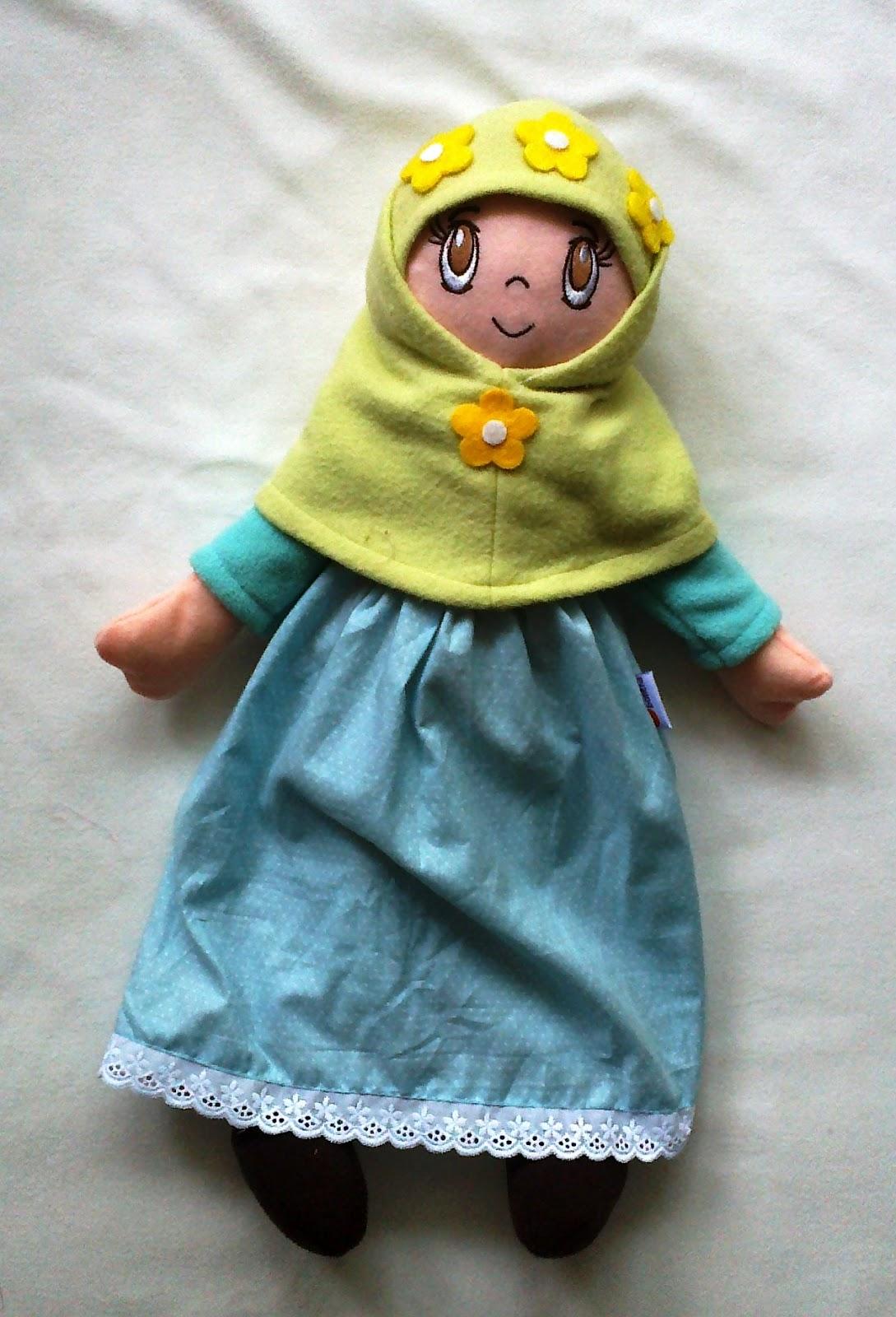 Buatan Tsabita Boneka: Boneka muslim 43cm stock terbaru