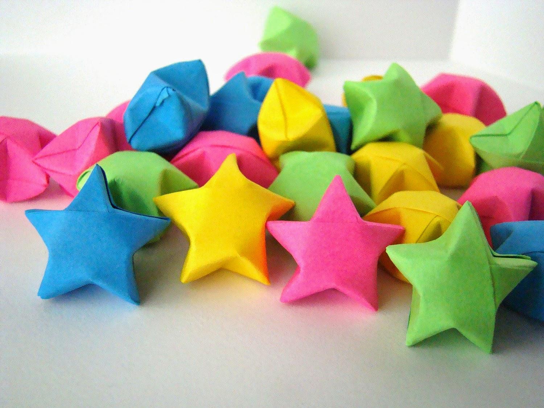 Hướng dẫn cách gấp giấy Origami - Ngôi Sao may mắn đơn giản và dễ làm