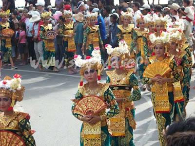 Bali Carnival in 2003