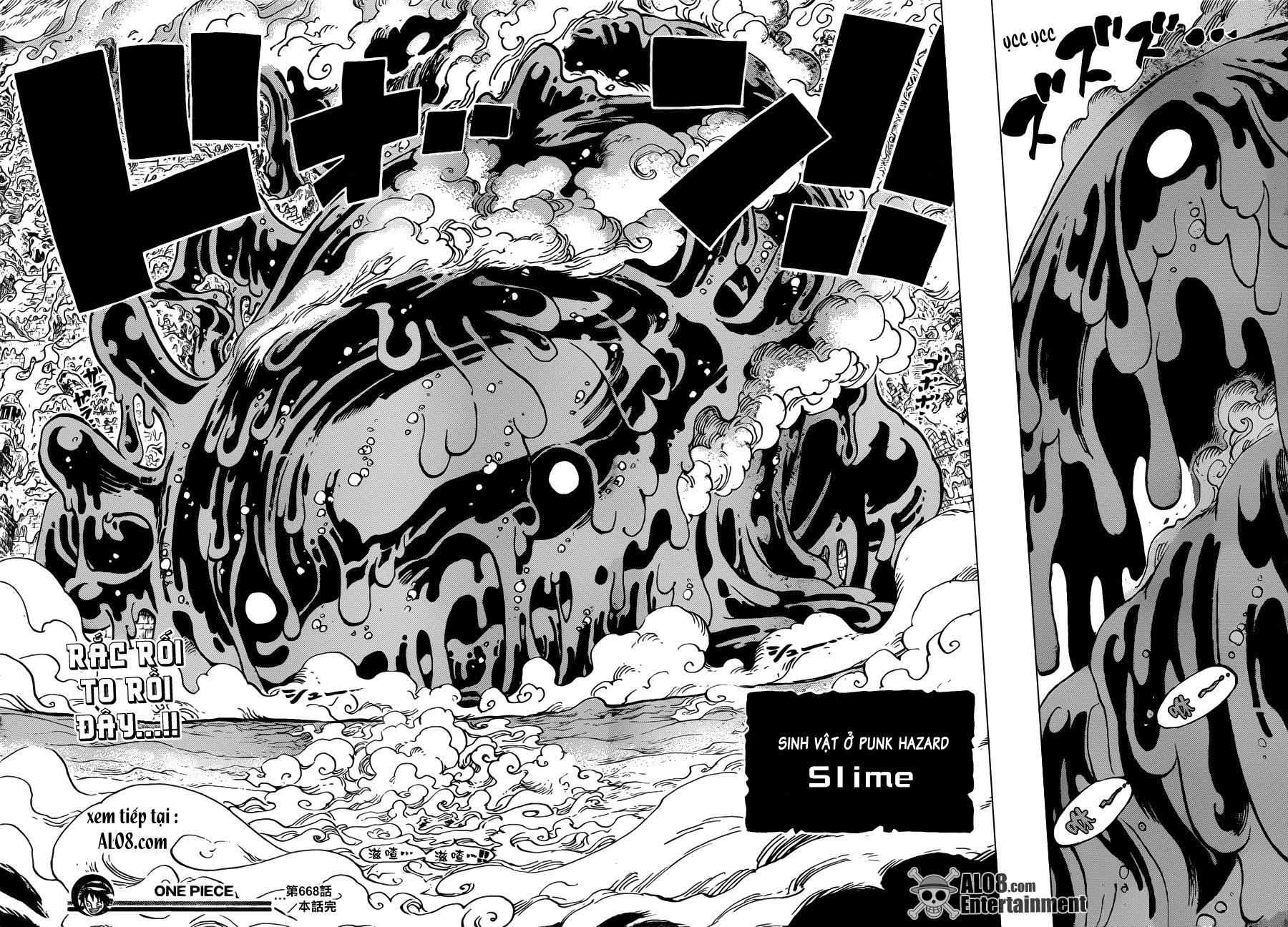 One Piece Chapter 668: Liên minh Hải tặc 018