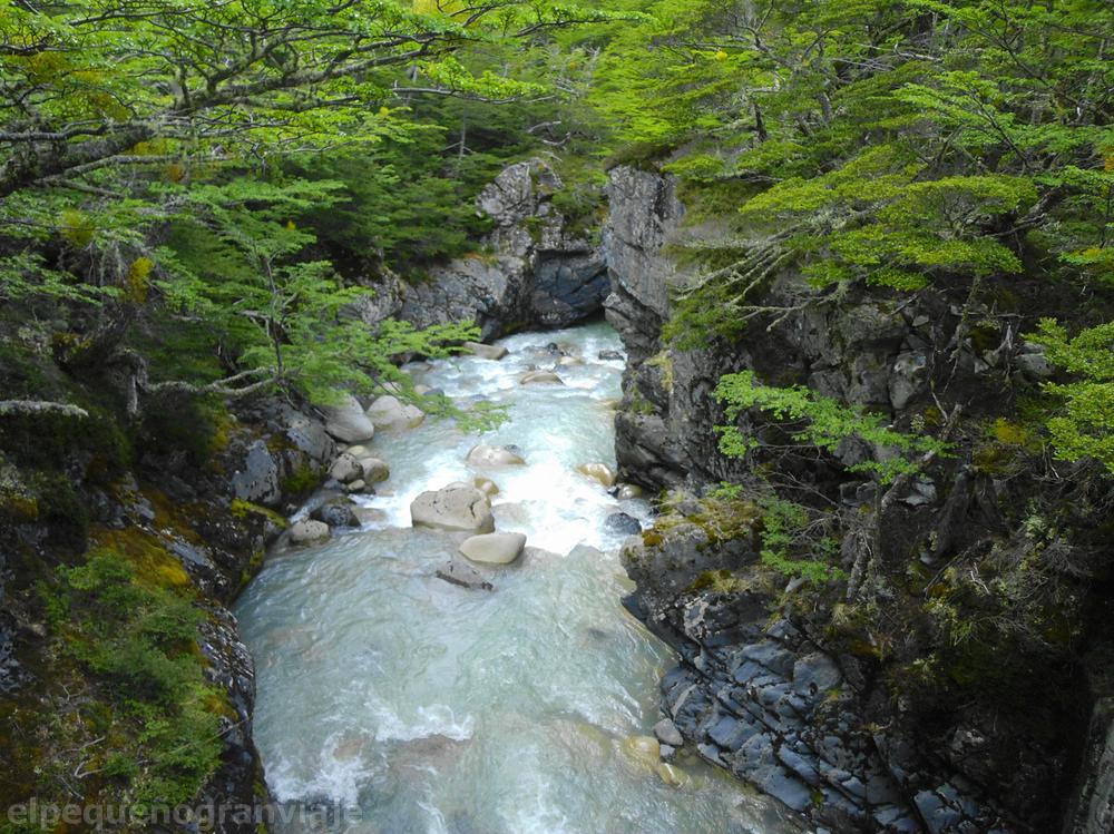 Cajon río Perros, Parque Nacional Torres del Paine