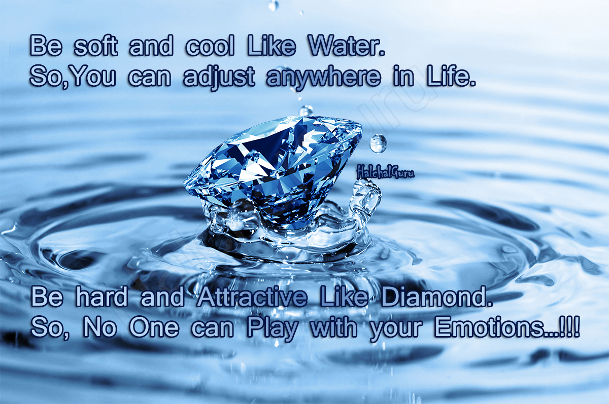 Water Is Life Quote Comapre Life Between Water And Diamondquote