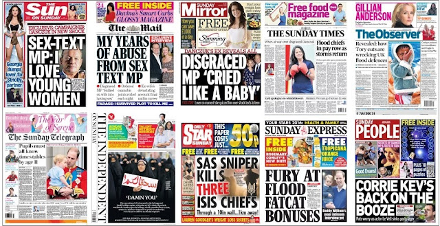 Jan 3 front pages