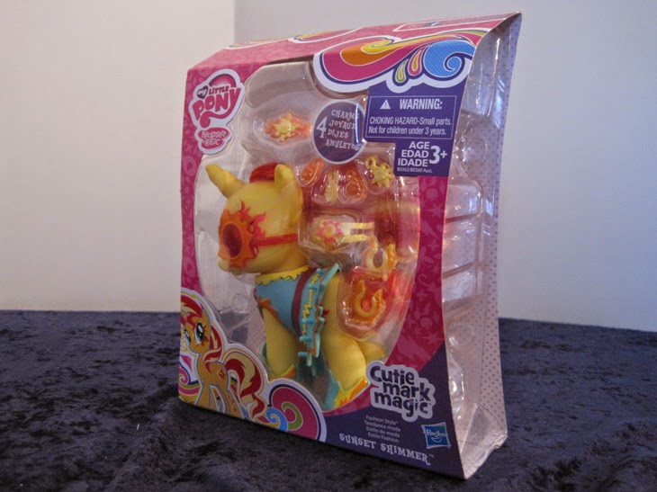 Cutie Mark Magic Fashion Style Sunset Shimmer, new in package.