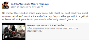 afroc1 Explicit Photos And Video: Nigerian Singer Releases P^rn Movie  Destructive Instinct 3 and 4