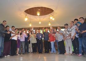 Kegiatan jumpa pers bersama wartawan media cetak & elektronik se Jawa Barat