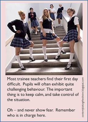 More of those alpha schoolgirls