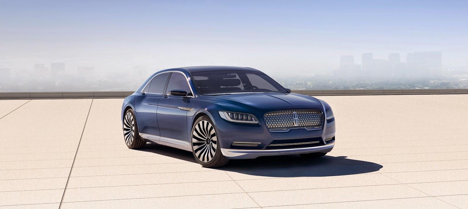 Autos Américaines Blog: New York 2015, Lincoln Continental Concept
