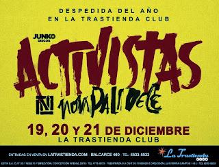 Nonpalidece Activistas