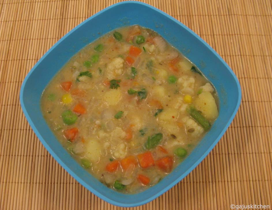 Vegetable kurma